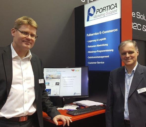 PORTICA at Internet World e-commerce trade show