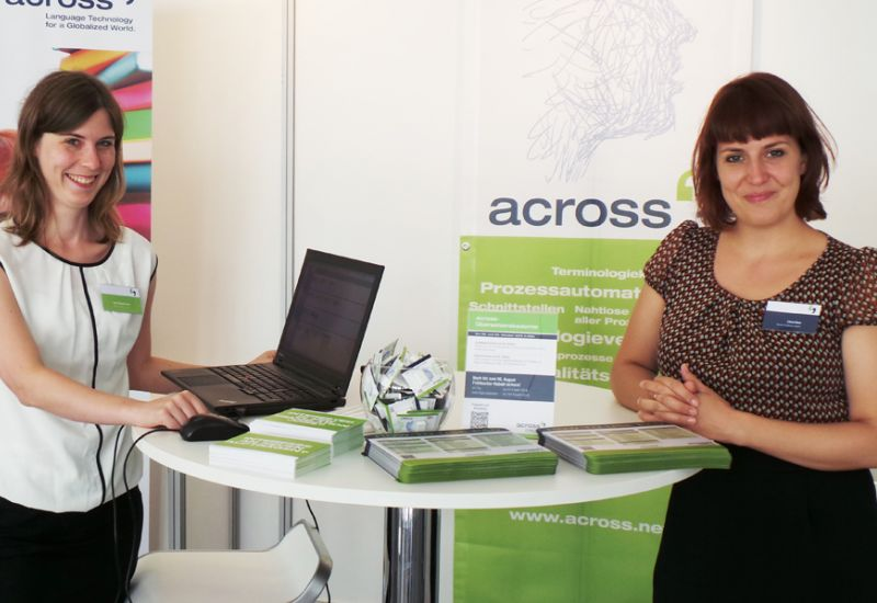 Image: Across at the world congress of the International Federation of Translators