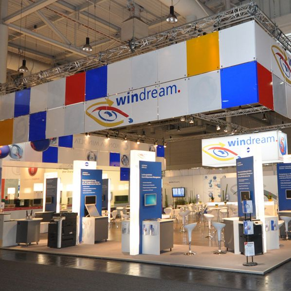 Messestand der windream GmbH auf der CeBIT 2011 (Quelle: windream GmbH)