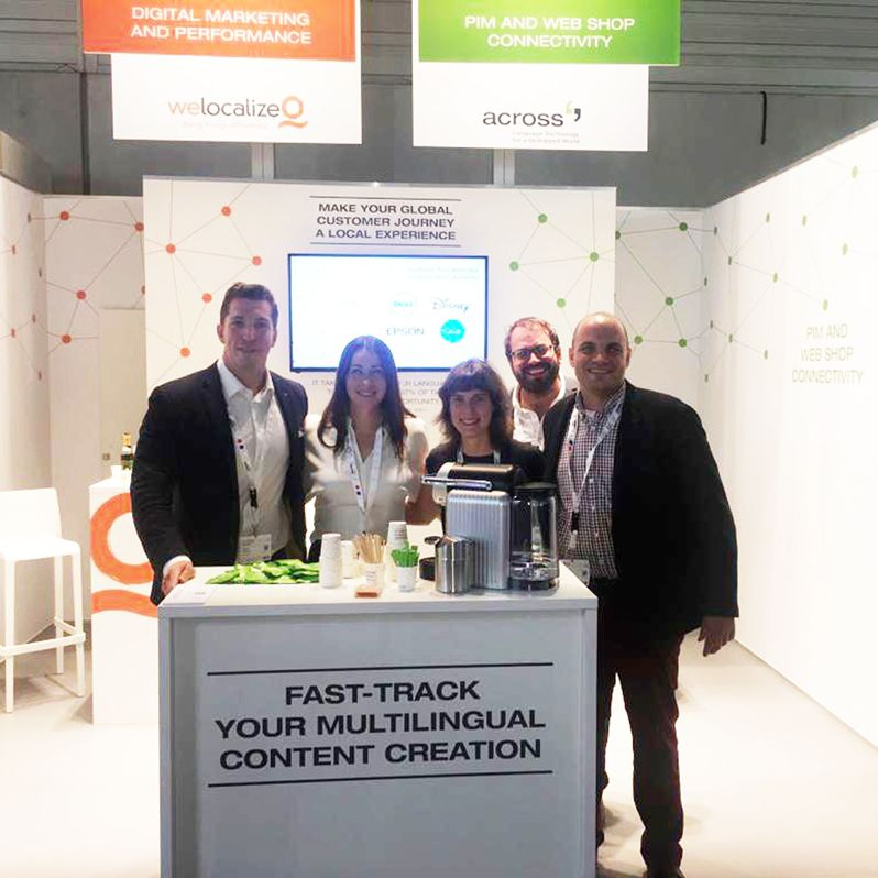 Successful Premiere of Across Systems at the DMEXCO (Source: Across Systems GmbH)