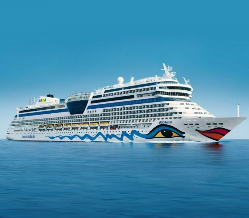 AIDA Cruises sets sail with e-commerce partner PORTICA. Image: AIDA Cruises