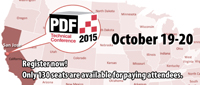 PDF Technical Conference 2015 will be held in San José